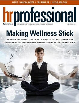 HR Professional Magazie - Making Wellness Stick